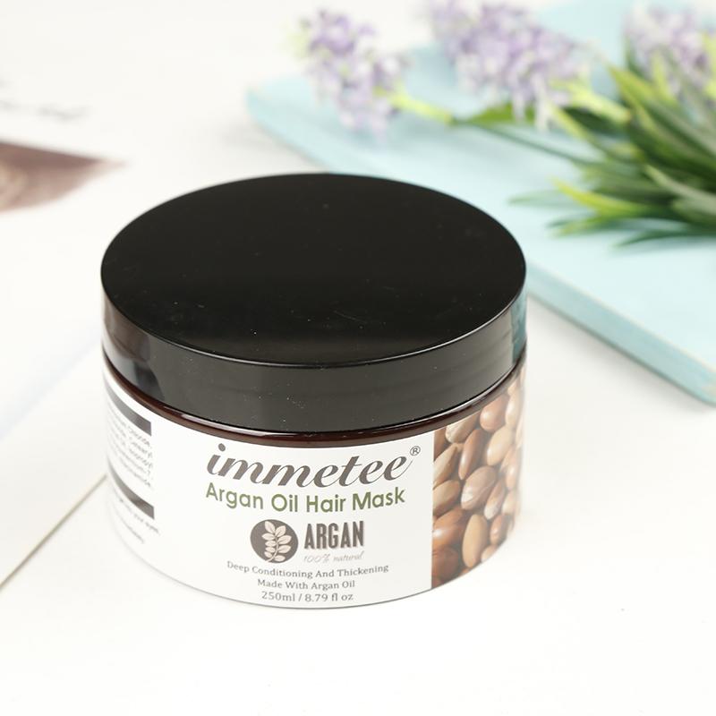 Частная этикетка маска для волос аргановое масло профессиональный салон лечебная маска для волос