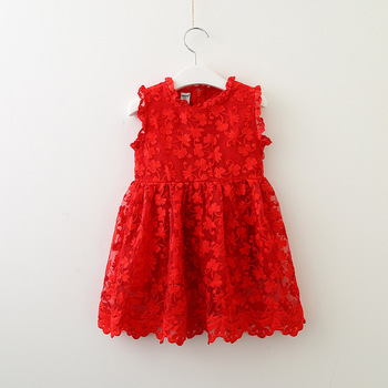 Summer Baby Frock Designs Fluffy Lace Floral Factory Wholesale Baby Skirts Embroidery Party Dresses Patterns For Girls
