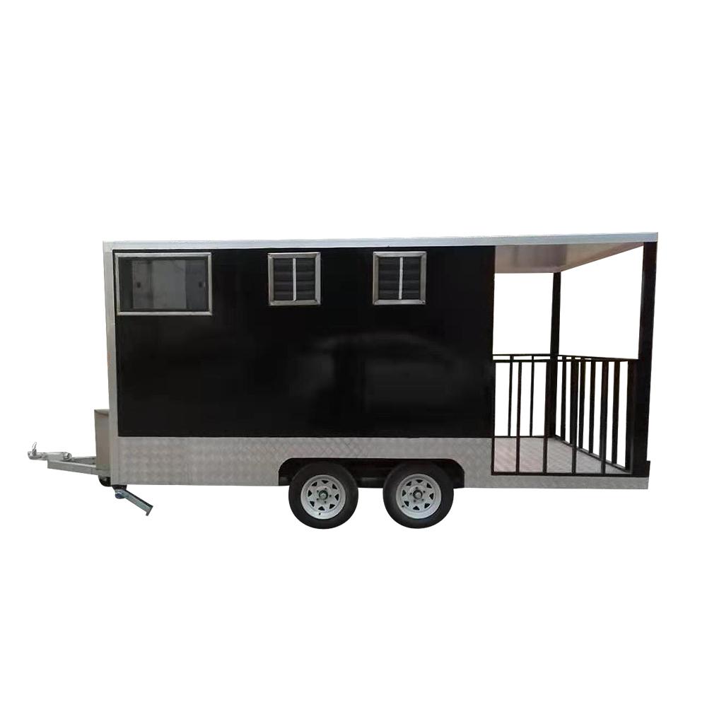 mobile fast food cart/street food traile/food kiosk tune import
