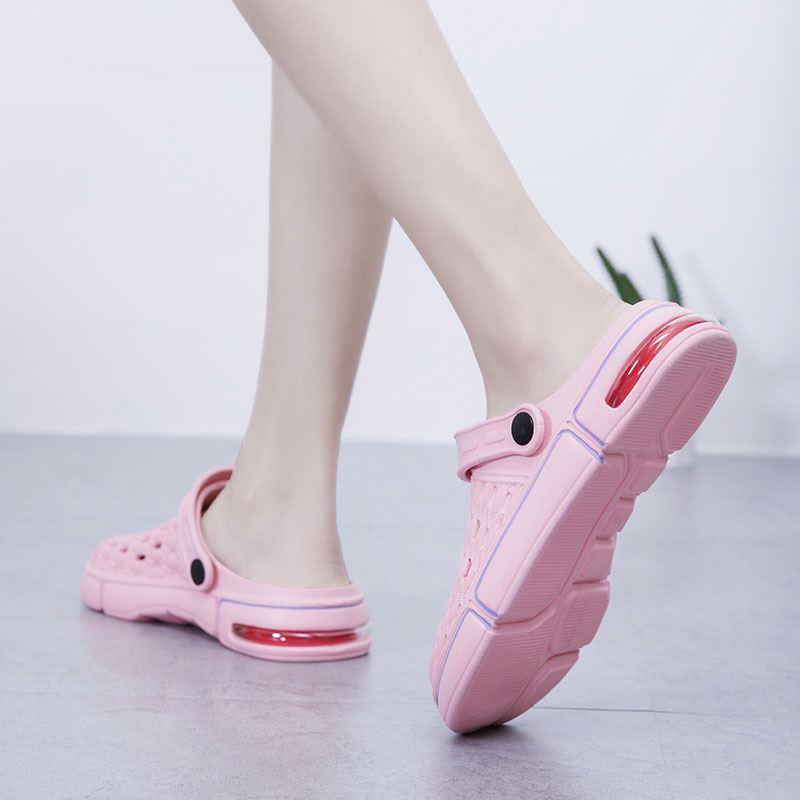 Chanclas/женские сабо с воздушной подошвой; Модные Недорогие шлепанцы; Садовые сандалии для девочек; Zapatos de mujer