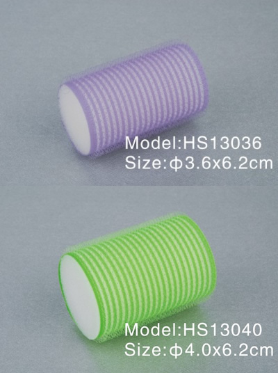 Factory Outlet Beauty Cosmetics hair rollers Length 62 mm Solid sponge + colored lining hair rollers