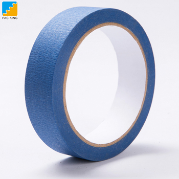 Car Crepe paper Blue Price Jumbo Roll Masking Tape