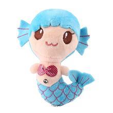 OCDAY плюшевые игрушки подарок для детей милые плюшевые принцессы PP Хлопок Игрушки для маленьких девочек маленькая Русалочка мягкие куклы(Китай)