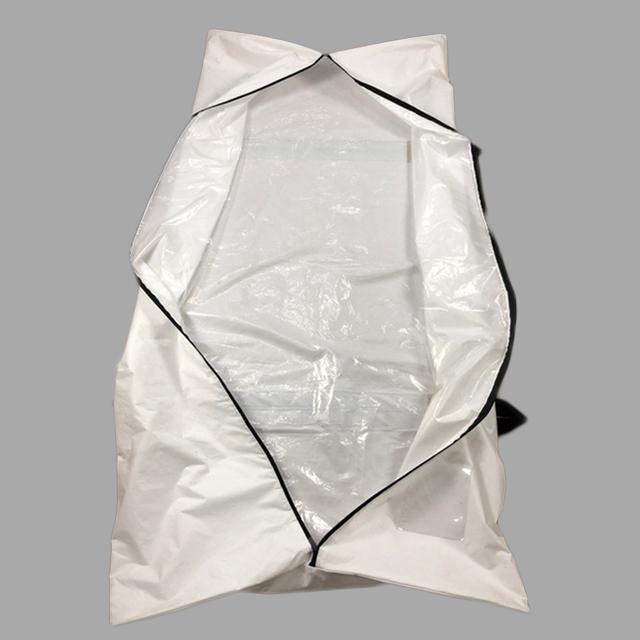 PEVA Biodegradable Funeral Cadaver Hospital plastic body bag for disposable