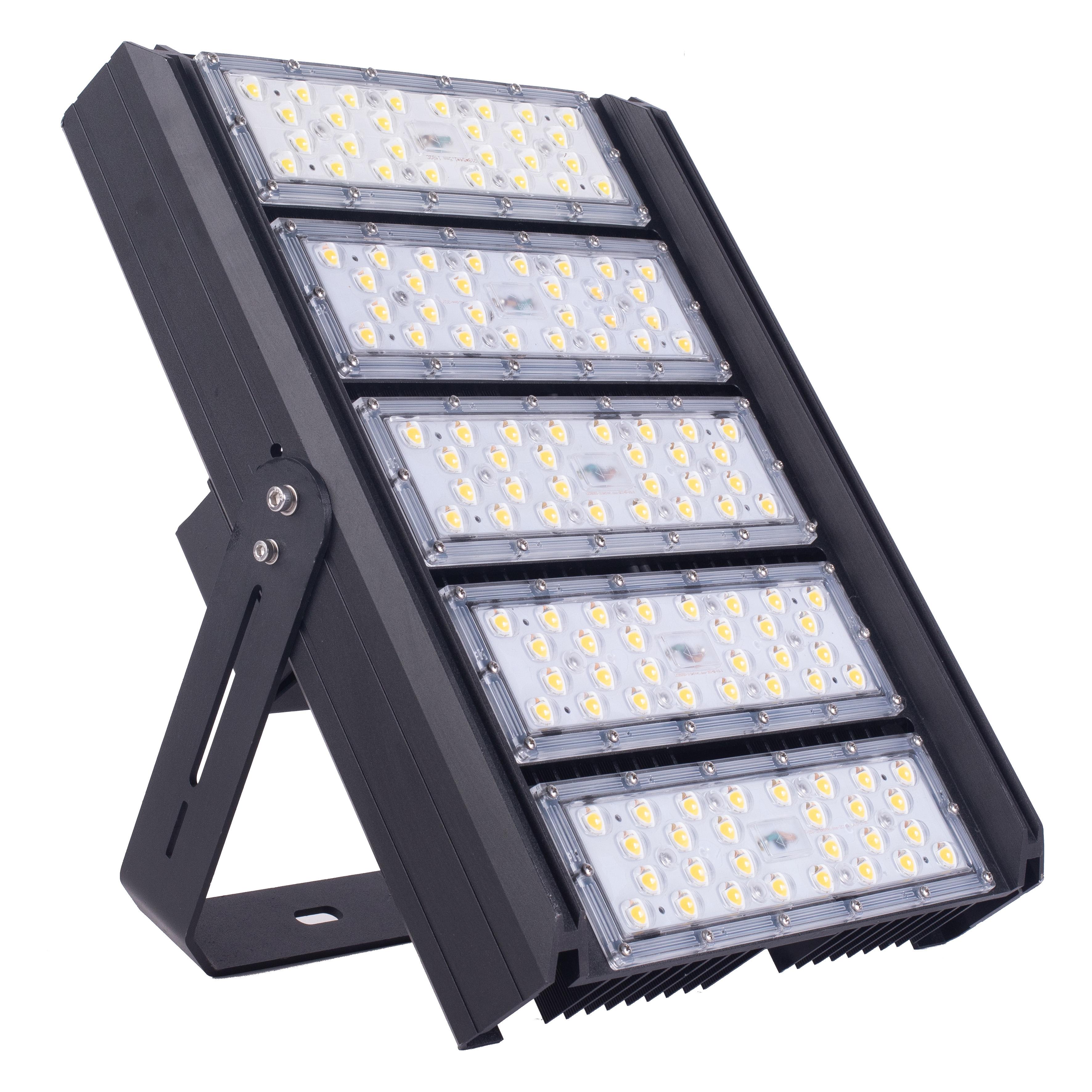Low maintenance cost IP66 waterproof 5050 400W LED flood light JYT11 high light efficiency 130 lm/w