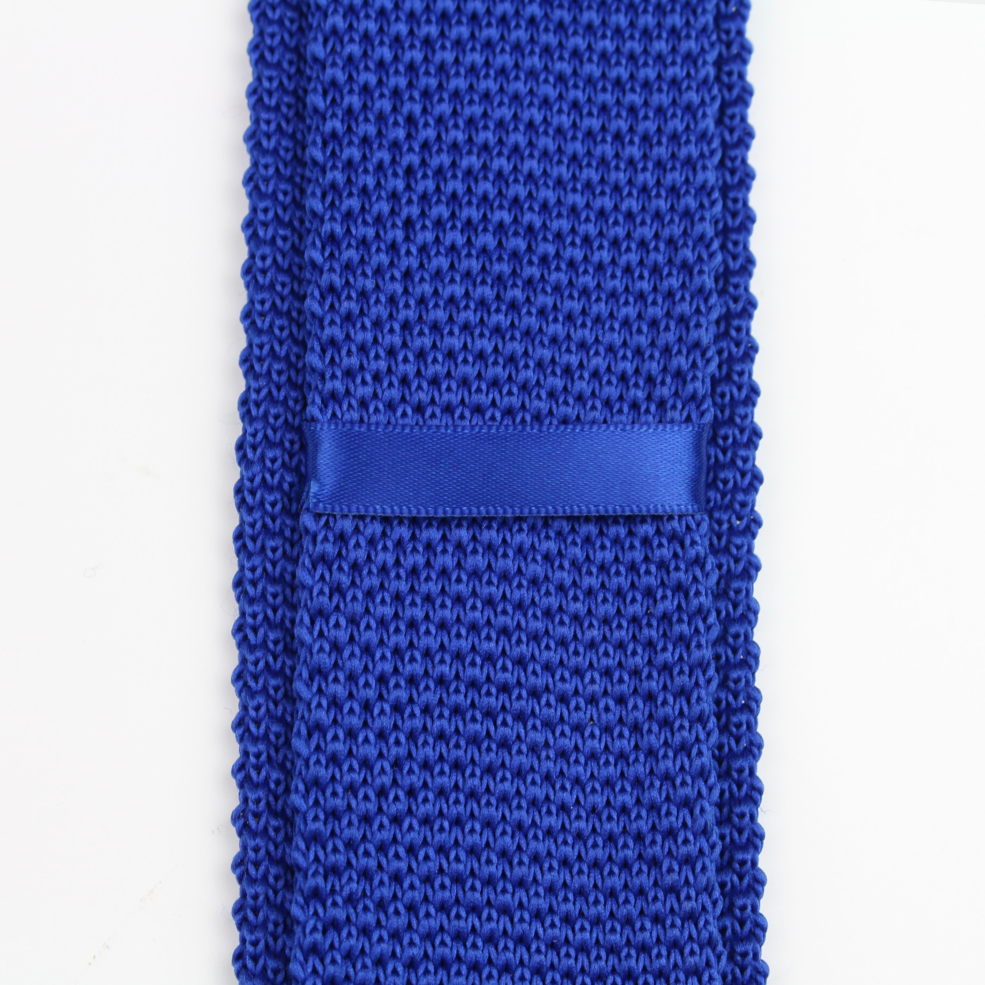 Модный мужской красочный Вязаный Галстук однотонный Узкий Тонкий тканый простой галстук узкие галстуки