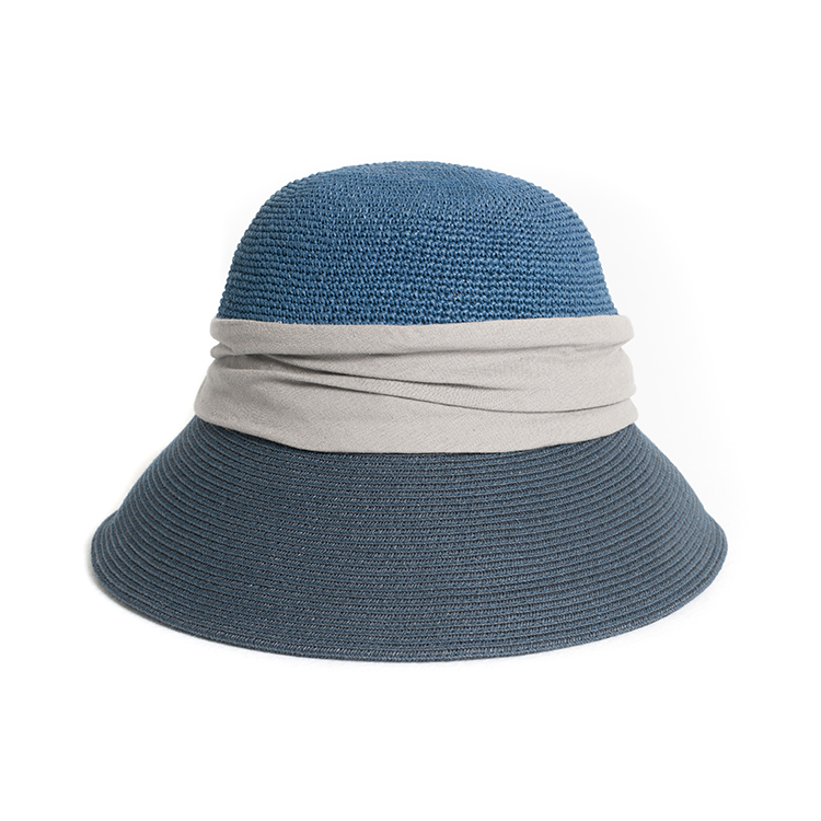 New Style Popular Girls Paper Fashion Women Luffy Wheat Ladies Trucker Straw Hat