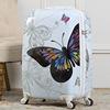 White butterfly pattern