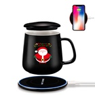 Corporate Luxury Business Cup Warmer Corporate Gifts 18W Wireless Charger Other Gifts