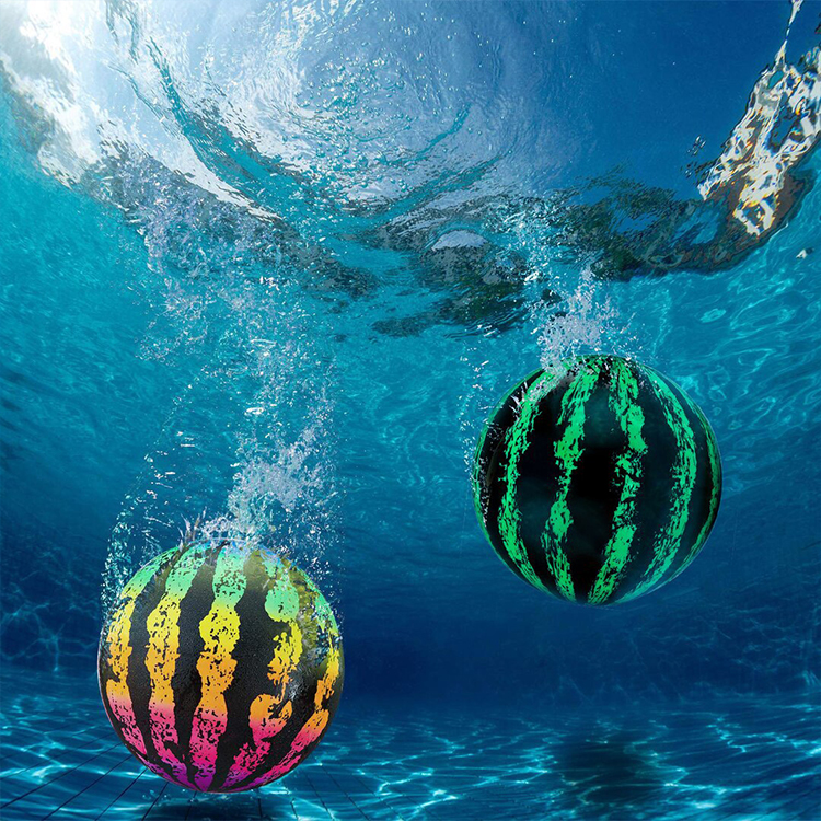 Watermelon Ball Pool Toy for Underwater Games Inflatable Water Walking Watermelon Diving Ball Pool Watermelon Beach Ball for Kid