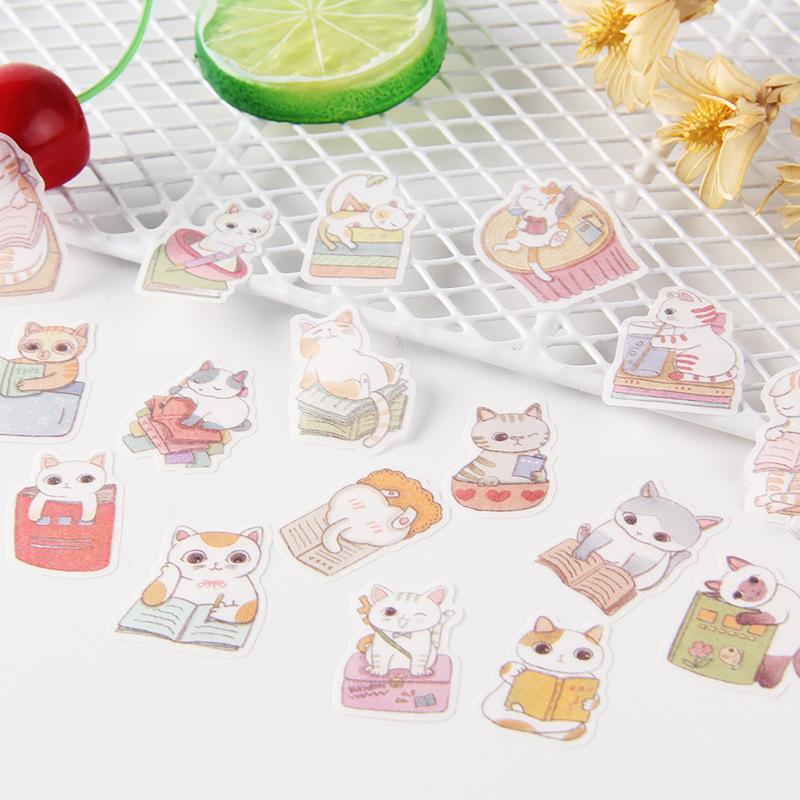 Cute Cartoon Korean Style Decorative Stickers Adhesive Stickers Scrapbooking DIY Decoration Diary Stickers