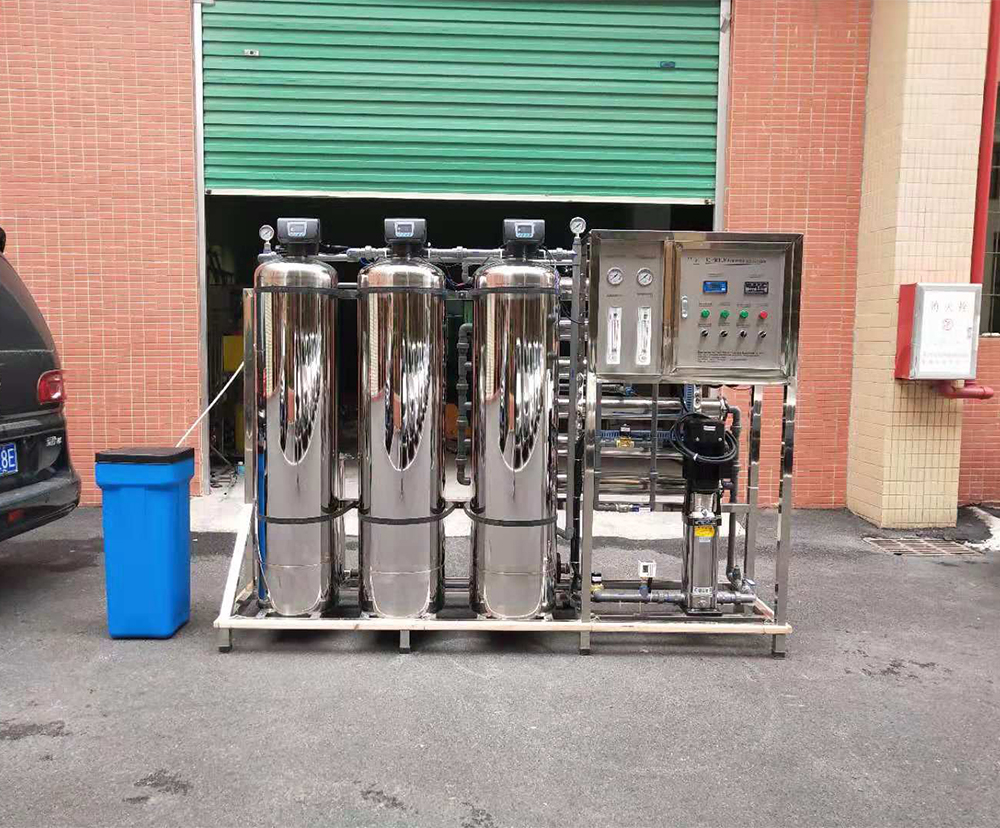 Ce Iso Osmosis Reverse Systems Purifier Plant Machine 1500Lph Ro Drinking Water Treatment