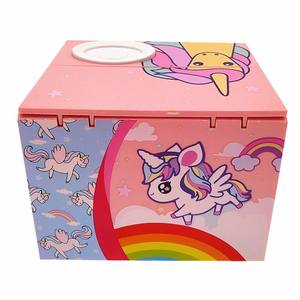 Cartoon Small Horse Electric Stealing Pony Piggy Bank for Children