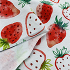 Cotton Baby Clothes Fabric Professional Custom Digital Printed Cotton Spandex Baby Clothes Fabric