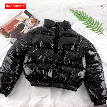 Trendy bubble woman plus size puffer jacket waterproof warm down jacket winter clothing coat fashion clothes coats for ladies