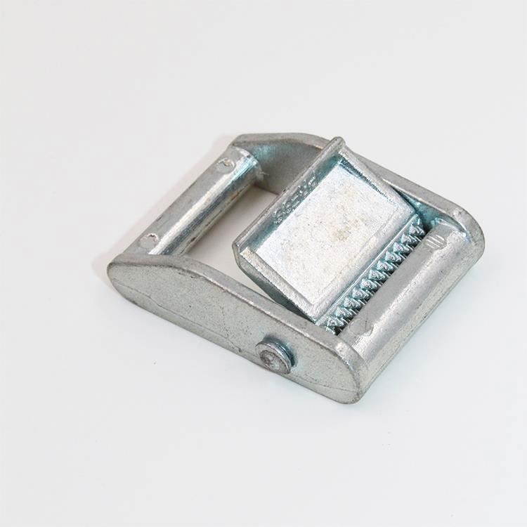 Highly Polished Zincification 1' B.S 250kgs metal cam buckle For Lashing Strap