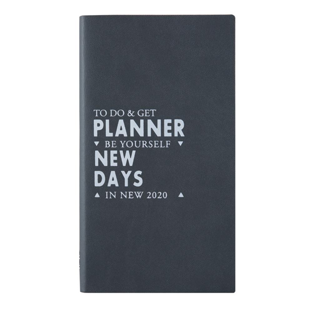 2020 планировщик Органайзер еженедельник ежемесячный А6 расписание годовой дневник еженедельник ежемесячный ежедневник бумага для органайз...(Китай)