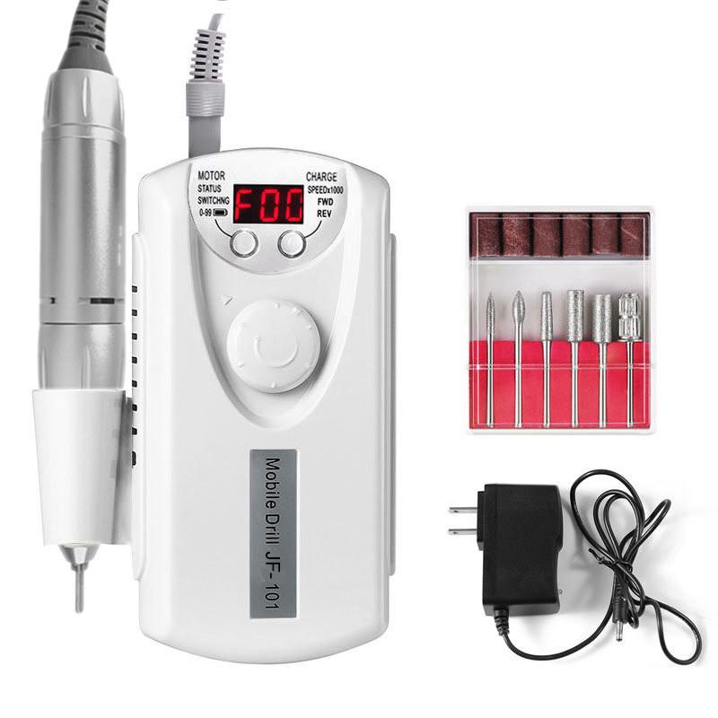 Long Service Life Professional Nail Art Tips Electric Nail Drill 30000 Rpm Nails Salon Professional Products Drill