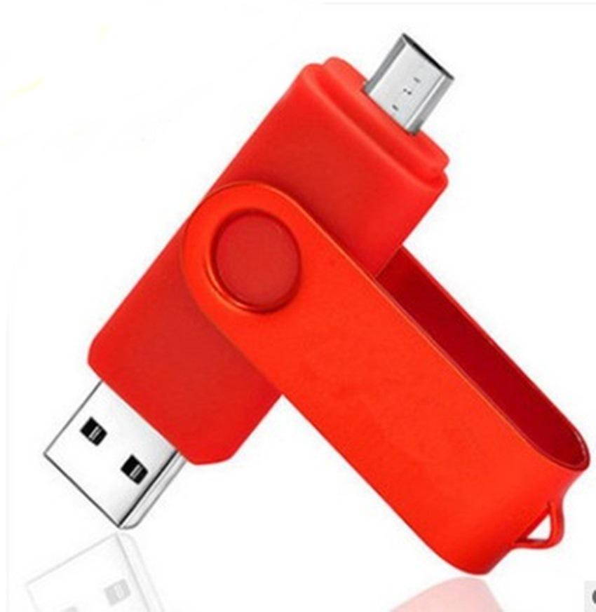 SATOSMART OTG USB 2.0/3.0 pen drive 2GB 4GB 8GB 16GB 32GB colorful otg swivel memorias usb small usb flash drive - USBSKY | USBSKY.NET
