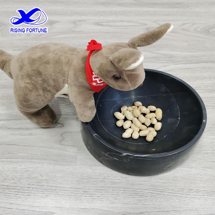 marble pet bowl