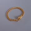 bracelet gold color with green eye