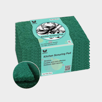 Topeco Scouring Pad Cutting Machine Heavy-Duty Green Polish Washing Dish Manufacturer Material Polyester Material Scouring Pad
