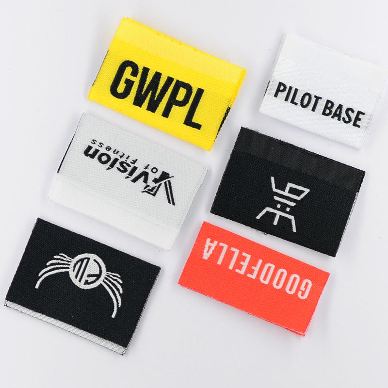 2021 fashion apparel design clothing custom woven label cloth label