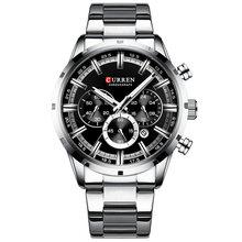 CURREN Лидирующий бренд, Роскошные мужские часы, деловые мужские часы, кварцевые водонепроницаемые повседневные наручные часы, мужские часы(Китай)