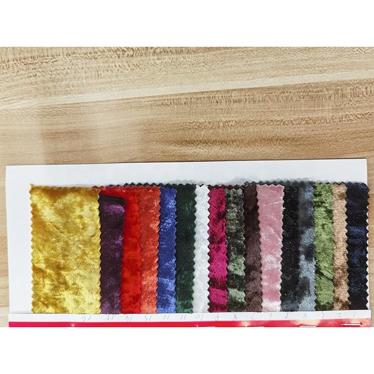 Knit tecido pleuche korean velvet velour fabric online cloth ice velvet fabrics
