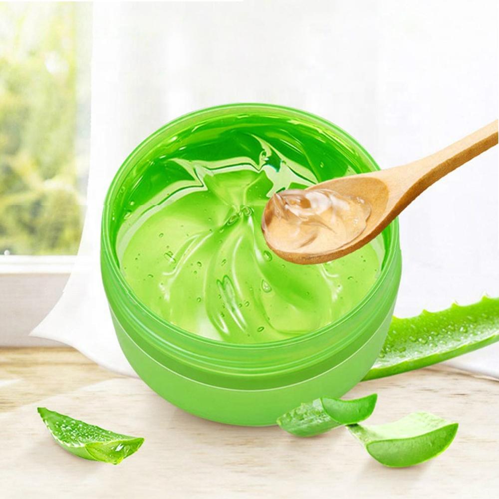Оптовая продажа уход за кожей увлажняющий натуральный экстракт алоэ 99% витамины коллаген органический отбеливающий гель алоэ вера