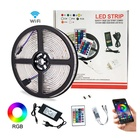 waterpoof 12v 24v 5050 rgb rgbw Smart Wifi app controlled led strip light