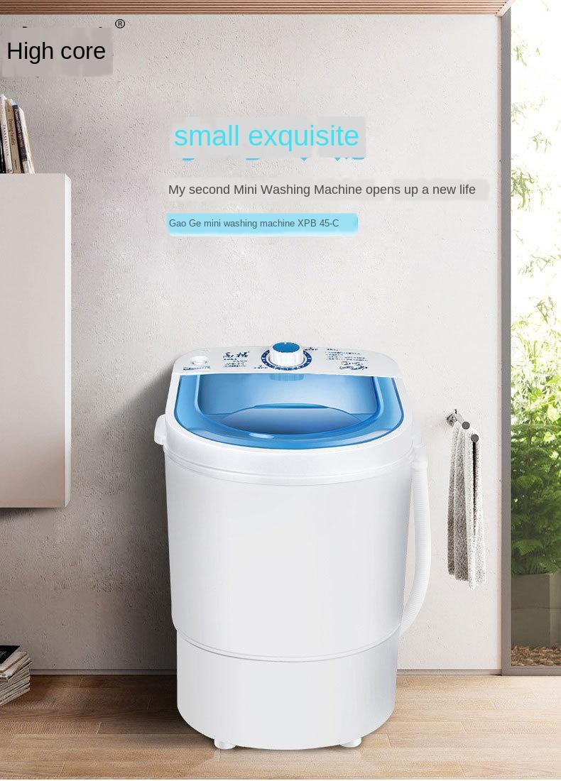 Appliances Washers & Dryers Portable Mini Washing Machine ...
