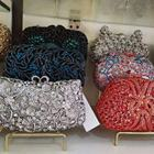 Purse Crystal Evening Ice Cream Cupcake Hand Purse Rainbow Crystal Stone Evening Bag Thank You Come Again Rhinestone Purse
