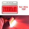 Red + White 12V
