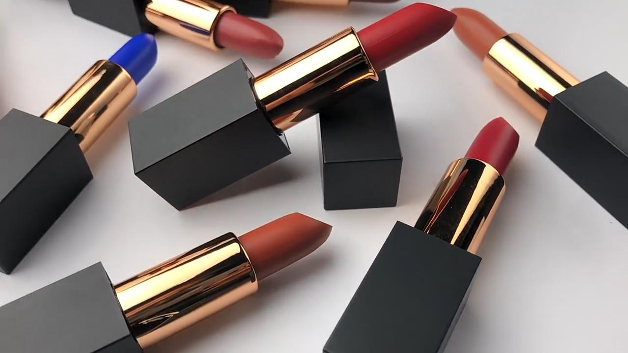 High quality cosmetics brand your own women lipstick matte long-lasting makeup matte lipstick