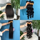 Beauty Hair Virgin Hair Cuticle Aligned Hair Hot Beauty Cuticle Aligned Hair Raw Cambodian Hair Unprocessed Deep Wave Virgin Human Hair