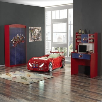 HIGH QUALITY WHOLESALE PRODUCT - BERA KIDS ROOM - CAR BEDROOM - BEDROOM SET - KIDS ROOM - KIDS - CAR BED