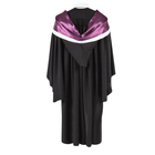 High School School Graduation Gowns For Adults 2020 China OEM Hot Sale Adult University High School Graduation Gowns For Master