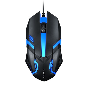 V1-1 USB 2.0 Wired Optical Mouse Home Office Business Notebook Desktop Computer Flat Gaming mouse