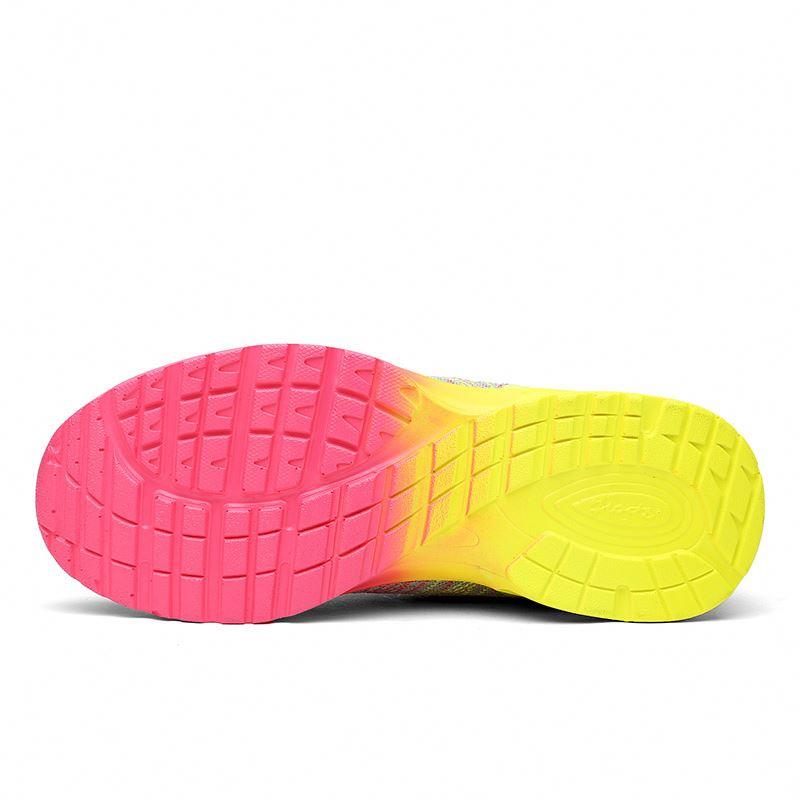 Новейший дизайн; Удобная трикотажная ткань; Спортивная обувь для бега; Женская обувь на воздушной подушке