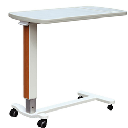 Wholesale Chinese Good Quality Height Adjustable Overbed With Wheels