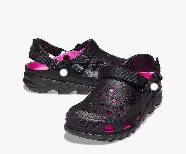 Men sandals croc clogs classic post malone pink