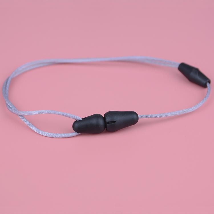 Веревка Color-1mm ребенка прорезывания зубов сенсорный браслет ожерелье регулируемые застежки для изготовления ювелирных изделий
