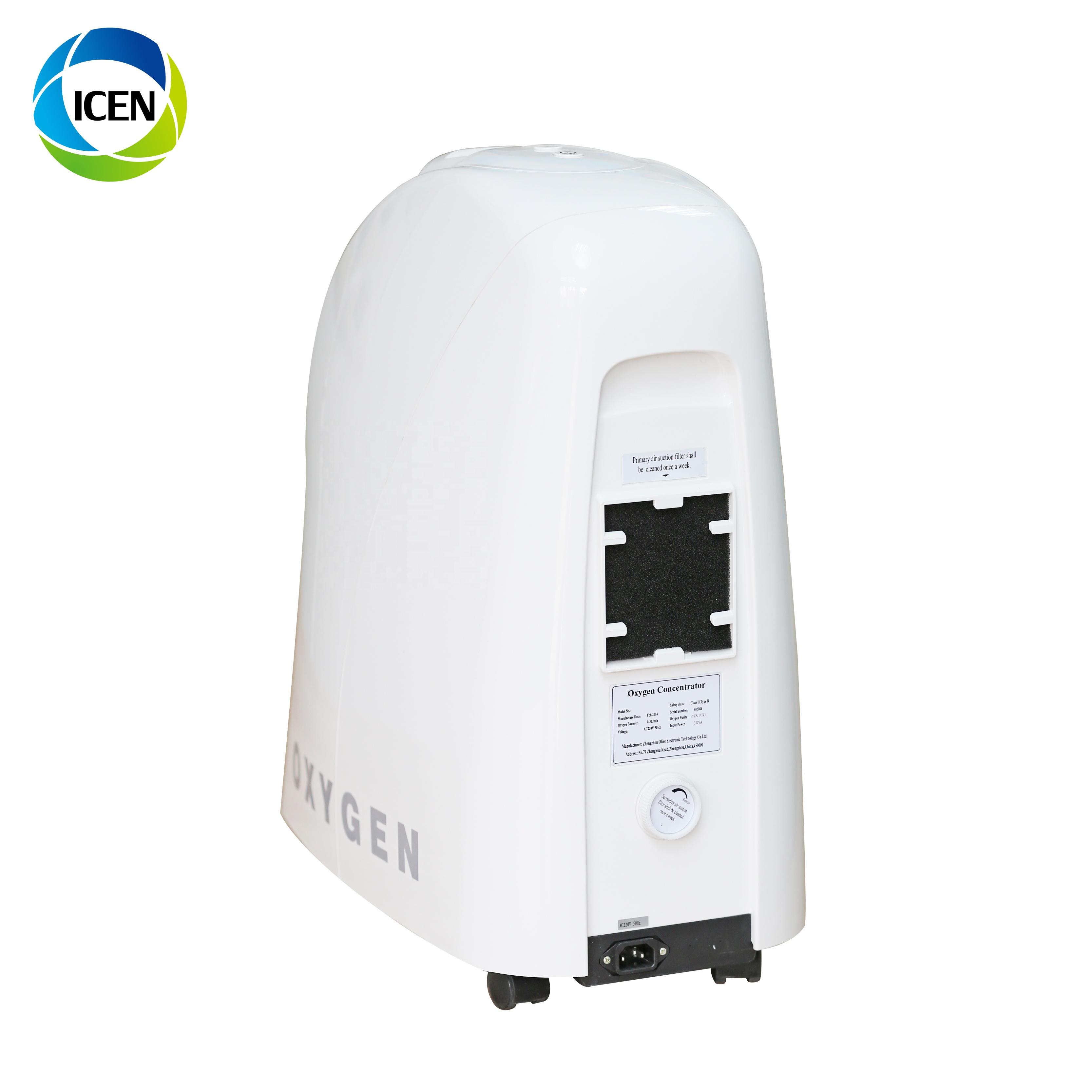 IN-I5 портативный медицинский параболический концентратор кислорода 93% медицинский концентратор кислорода, низкие цены