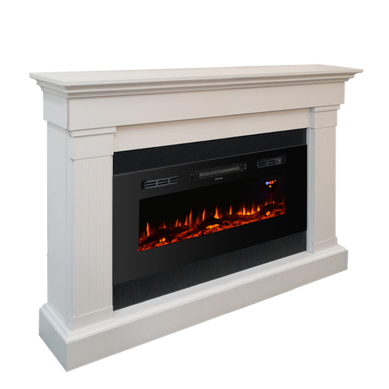 Freestanding Electric Fireplace With Mantel Tv Stand White Buy Electric Fireplace Electric Fireplace Tv Stand Fireplace Mantel Product On Alibaba Com