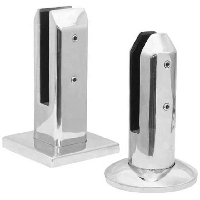 Высококачественный 316 и дуплексный 2205 зажим из нержавеющей стали для стеклянного бассейна