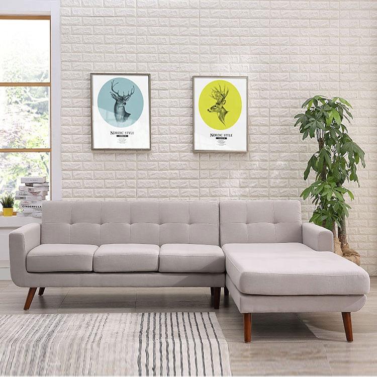 Furniture Foshan sofa living room sofa modern corner fabric sofa