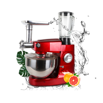 Household Low Noise 5l 8l Multifunctional 4 In 1 Stand Juicer Blender Meat Grinder Food Mixer