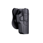 Cytac R-Defender G3 series holster for Glock 17, 22, 31 Gen 1,2,3,4,5 tactical gear Level II padlle holster