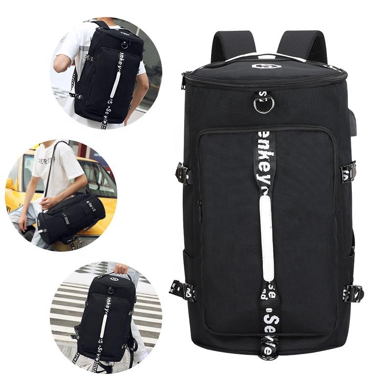 3 способа переноски, прочный рюкзак для путешествий, тренажерного зала, водонепроницаемый спортивный рюкзак с логотипом под заказ, большая дорожная сумка